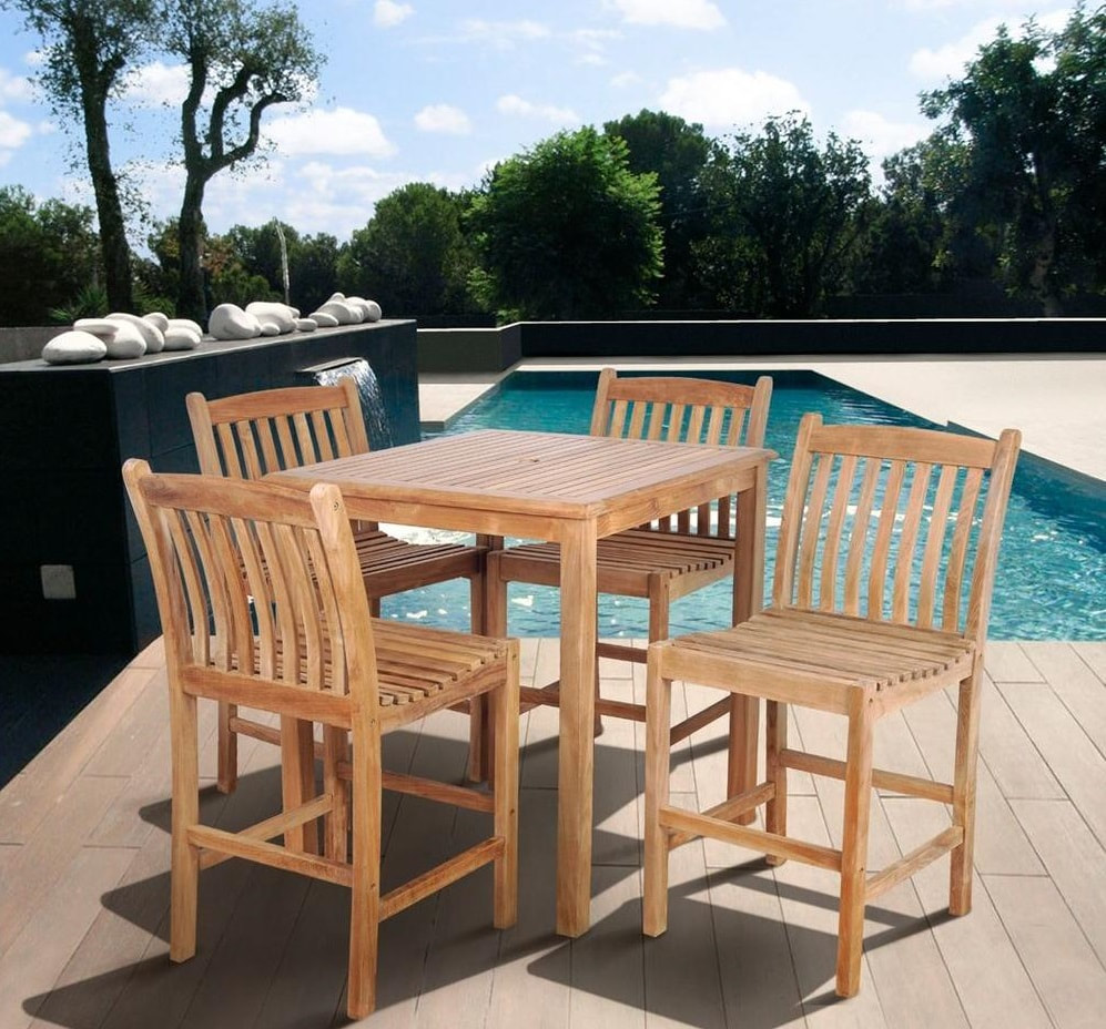 Out of all wood choices for outdoor furniture teak is one of the most popular types because of several reasons teak has extraordinary capabilities to