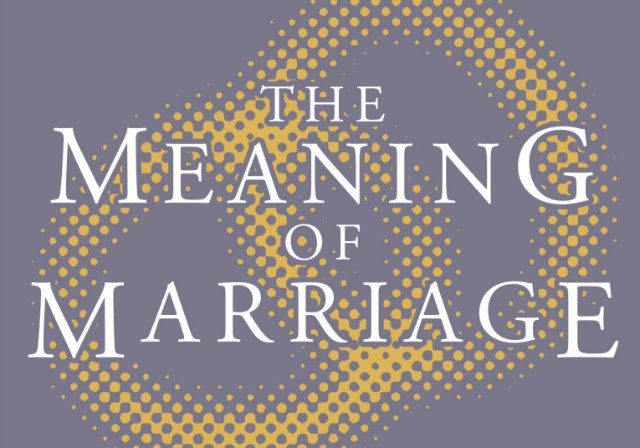The Meaning of Marriage - Questions & Answers - Written lines for All